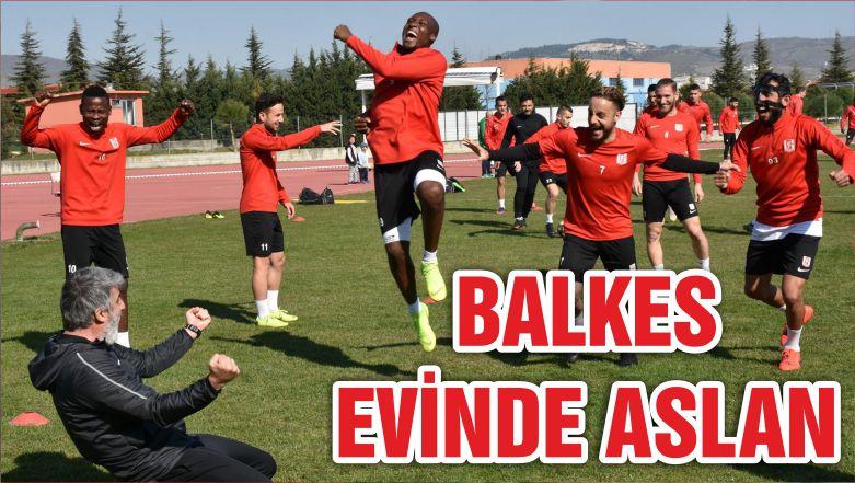 BALKES EVİNDE ASLAN