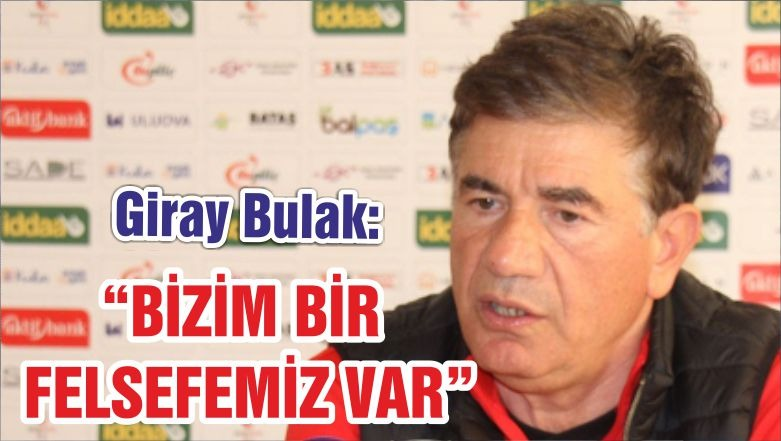"""BULAK """"BİZİM BİR FELSEFEMİZ VAR"""""""