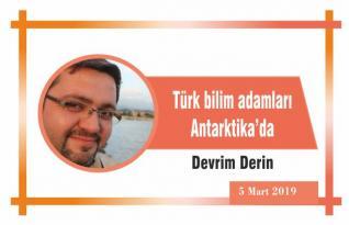 Türk bilim adamları Antarktika'da
