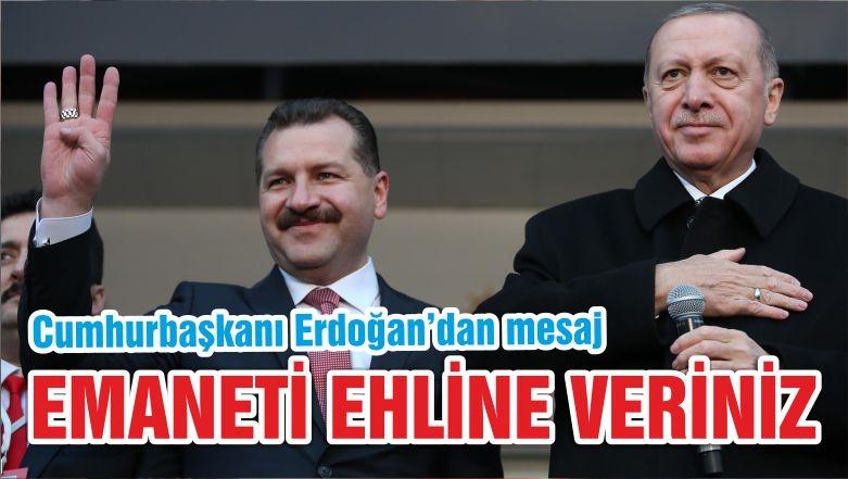 EMANETİ EHLİNE VERİNİZ