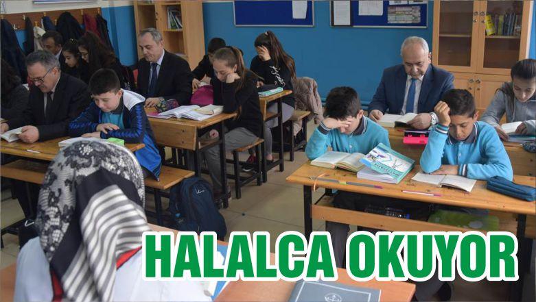 HALALCA OKUYOR
