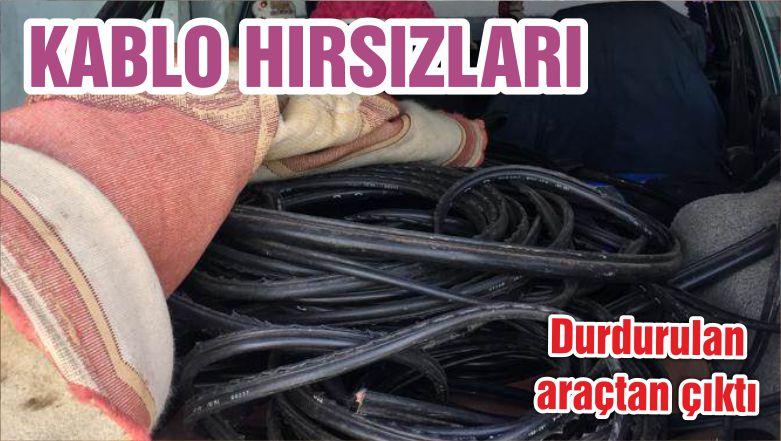 KABLO HIRSIZLARI