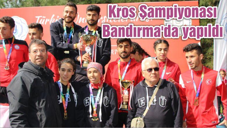 Kros Şampiyonası Bandırma'da yapıldı