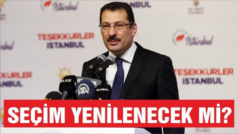 AK Parti'den İstanbul Seçimlerinin Yenilenmesi Talebi