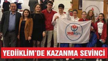 YEDİİKLİM'DE KAZANMA SEVİNCİ