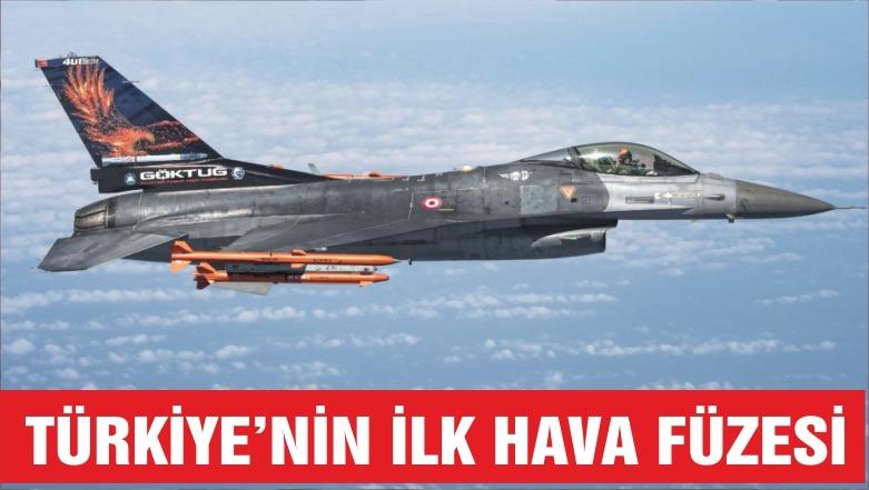 Türkiye'nin ilk hava füzeleri atışa hazırlanıyor