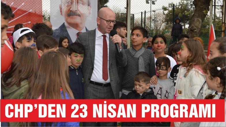 CHP'DEN 23 NİSAN PROGRAMI