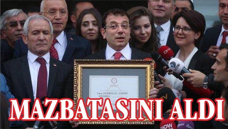 """İSTANBUL'UN BELEDİYE BAŞKANI """"İMAMOĞLU"""""""