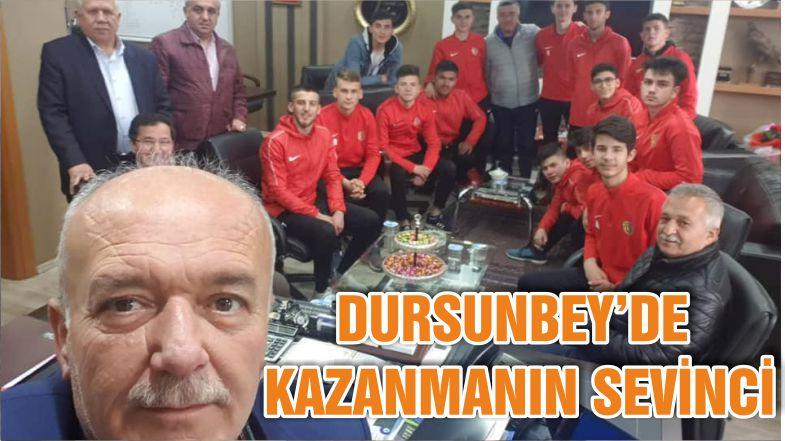 DURSUNBEY'DE KAZANMANIN SEVİNCİ