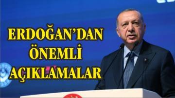 """ERDOĞAN """"EKONOMİK SALDIRILARA RAĞMEN DİK DURUYORUZ"""""""
