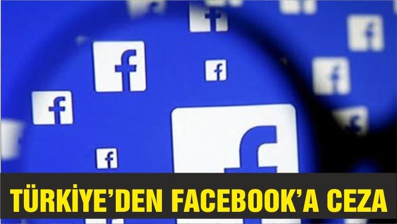 Türkiye'den Facebook'a 1.6 milyon lira para cezası