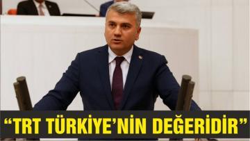 """CANBEY """" TRT Türkiye'nin marka değeridir"""""""