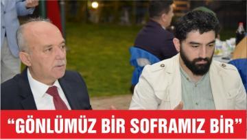 """""""GÖNLÜMÜZ BİR SOFRAMIZ BİR"""""""