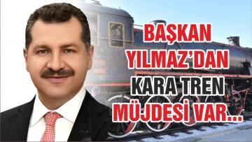 BALIKESİR'E KARA TREN MÜJDESİ