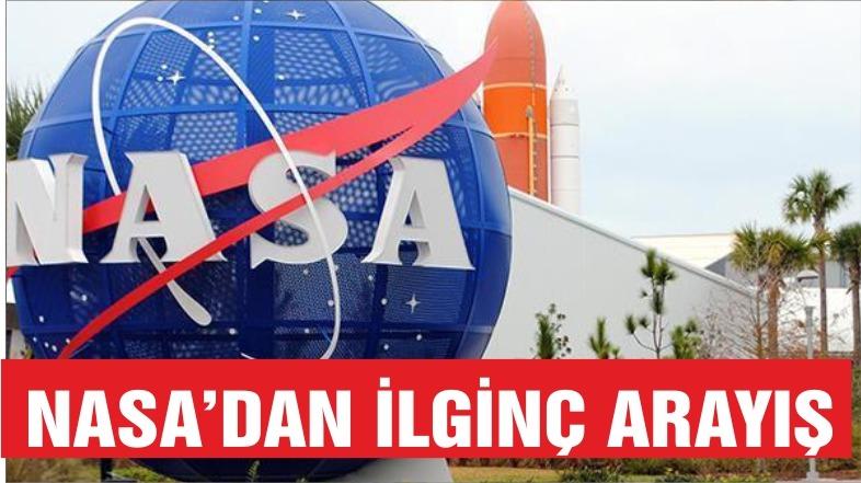 NASA için komik astronotlar arıyor