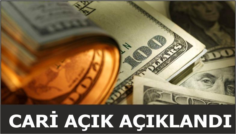 CARİ AÇIK AÇIKLANDI