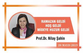 RAMAZAN GELDİ HOŞGELDİ, MİDEYE HUZUR GELDİ!