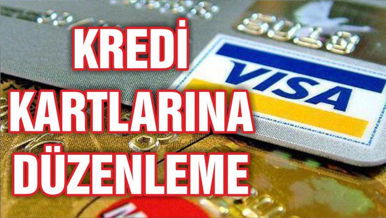 Kredi kartı taksit süreleri ve asgari ödeme limitine düzenleme
