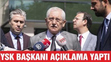 YSK Başkanı Güven Resmi Sonuçları Açıkladı