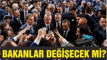 Erdoğan'dan 'kabine değişikliği' açıklaması