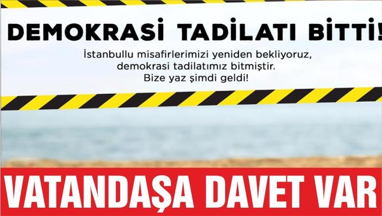 EDREMİT'TE DEMOKRASİ TADİLATI BİTTİ