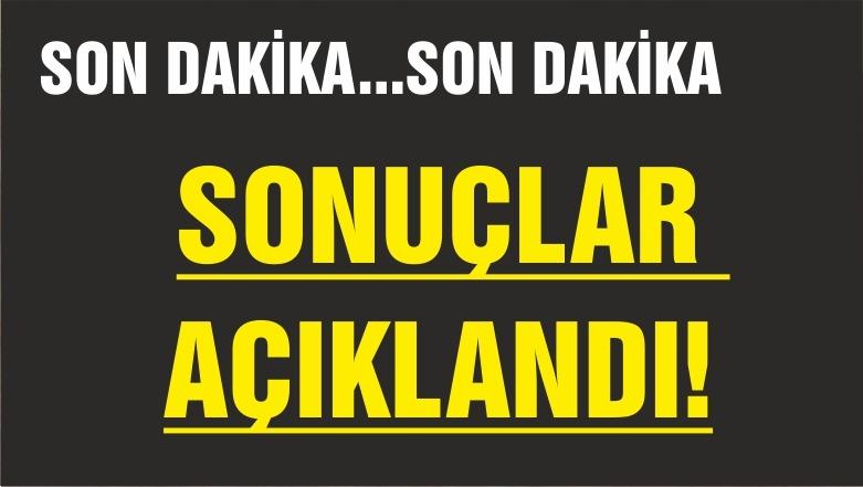 SEÇİM SONUÇLARI AÇIKLANIYOR TARİHİ FARK!