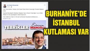 BURHANİYE'DE SEÇİM SONUCU KUTLAMASI