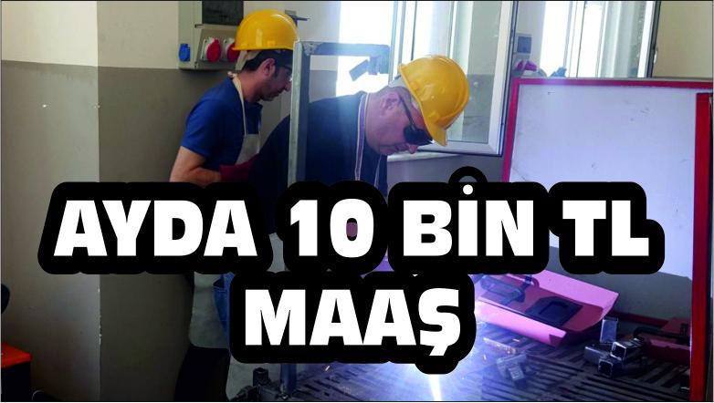 AYDA 10 BİN TL MAAŞ
