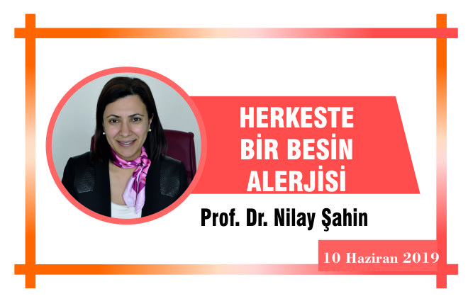 HERKESTE BİR BESİN ALERJİSİ!