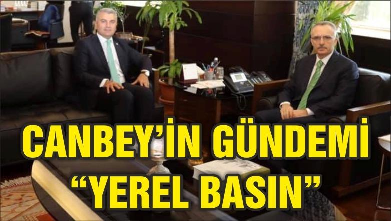 """CANBEY'İN GÜNDEMİ """"YEREL BASIN"""""""