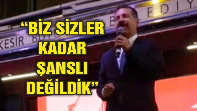 """""""BİZ SİZLER KADAR ŞANSLI DEĞİLDİK"""""""