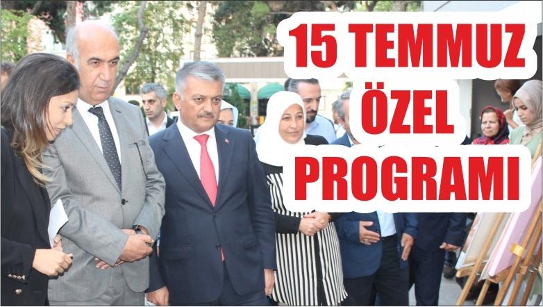 """BAUN VE BGYC'DEN """"15 TEMMUZ ÖZEL PROGRAMI"""""""