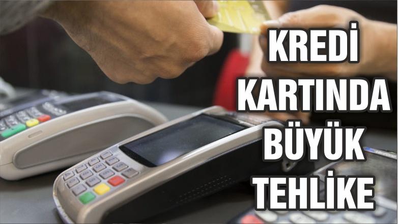Kredi kartında taksit tehlikesi