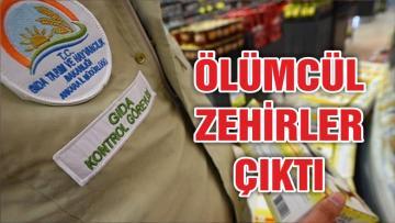 İstanbul'daki bazı gıdalarda ölümcül kimyasallar çıktı!