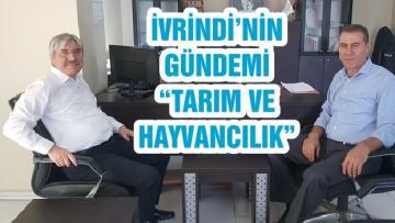 """İVRİNDİ'NİN GÜNDEMİ """"TARIM VE HAYVANCILIK"""""""