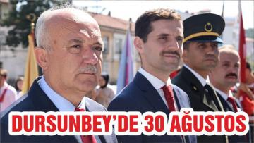DURSUNBEY'DE 30 AĞUSTOS