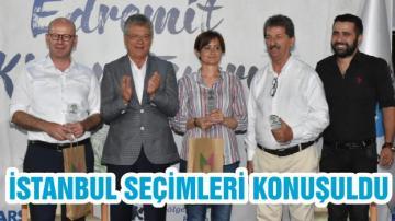 İSTANBUL SEÇİMLERİ KONUŞULDU