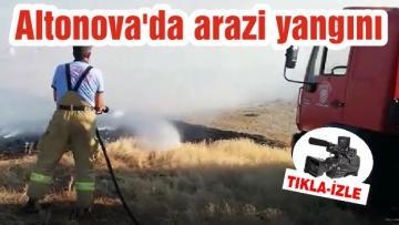 Altonova'da arazi yangını