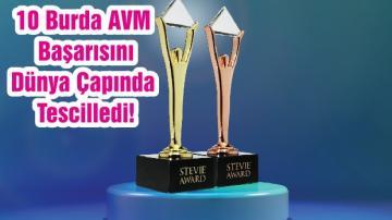 10 Burda AVM, Uluslararası Stevie İş Ödülleri ile Başarısını Dünya Çapında Tescilledi!