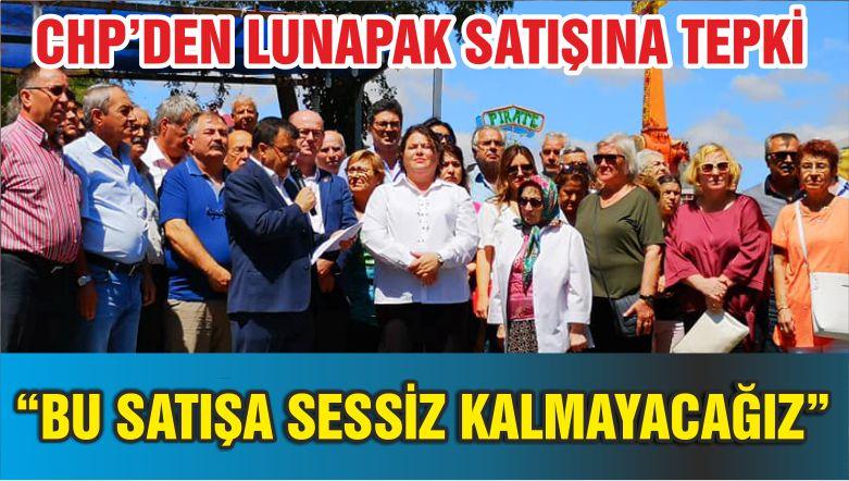 """CHP: """"BU SATIŞA SESSİZ KALMAYACAĞIZ"""""""