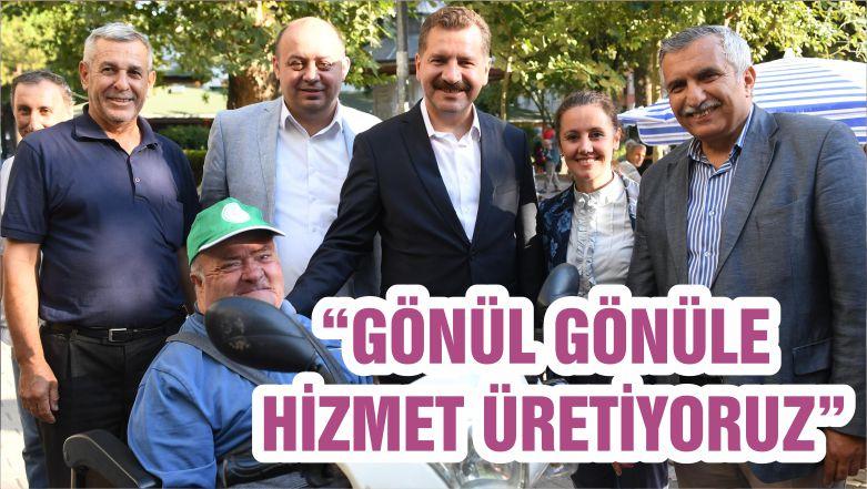 """""""GÖNÜL GÖNÜLE HİZMET ÜRETİYORUZ"""""""