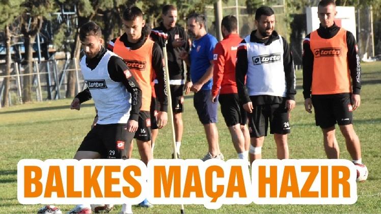 BALKES MAÇA HAZIR
