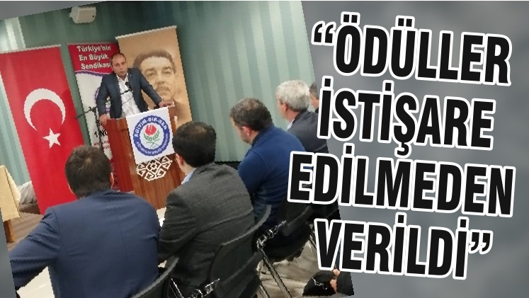 """""""ÖDÜLLER İSTİŞARE EDİLMEDEN VERİLDİ"""""""