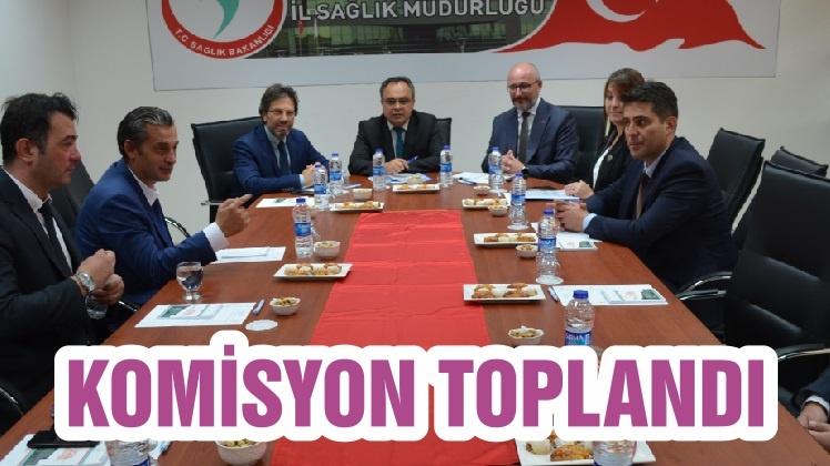 KOMİSYON TOPLANDI