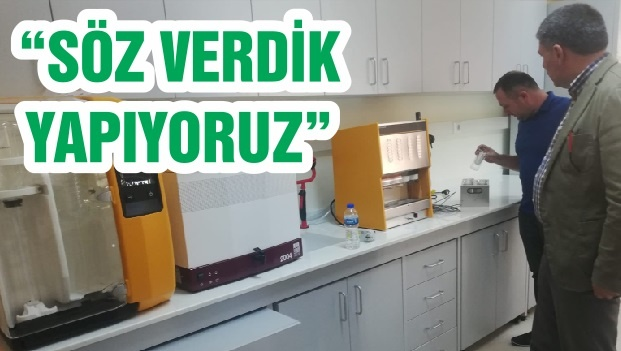 """""""SÖZ VERDİK YAPIYORUZ"""""""