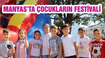 MANYAS'TA ÇOCUKLARIN FESTİVALİ