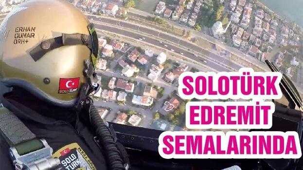 SOLOTÜRK EDREMİT SEMALARINDA