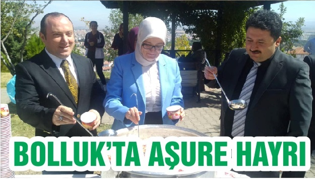 BOLLUK'TA AŞURE HAYRI