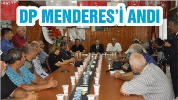 DP MENDERES'İ ANDI