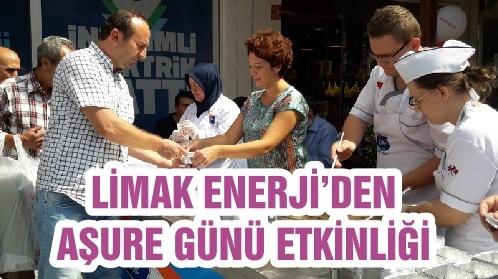 LİMAK ENERJİ'DEN AŞURE GÜNÜ ETKİNLİĞİ